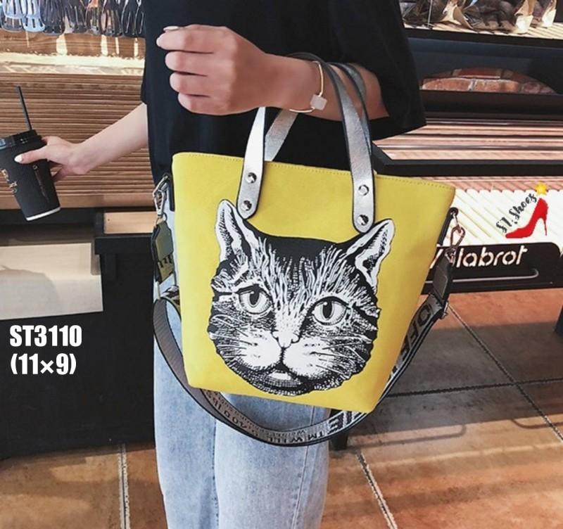 กระเป๋าสะพาย หน้าแมว