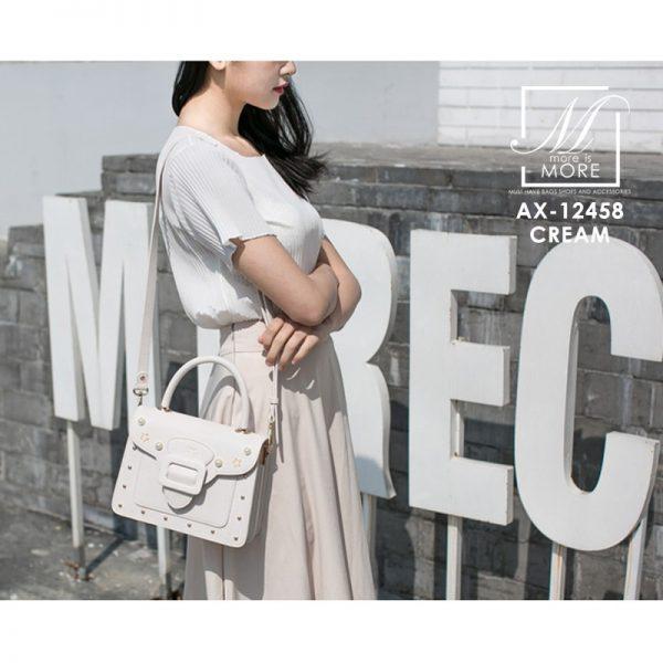 กระเป๋าสี่เหลี่ยมสุดหรู แบรนด์ axixi แท้