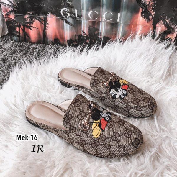 รองเท้าคัชชูสวมGucci x mickey mouse