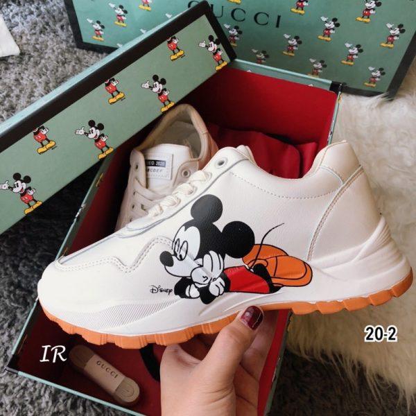 รองเท้าผ้าใบGucci & Mickey
