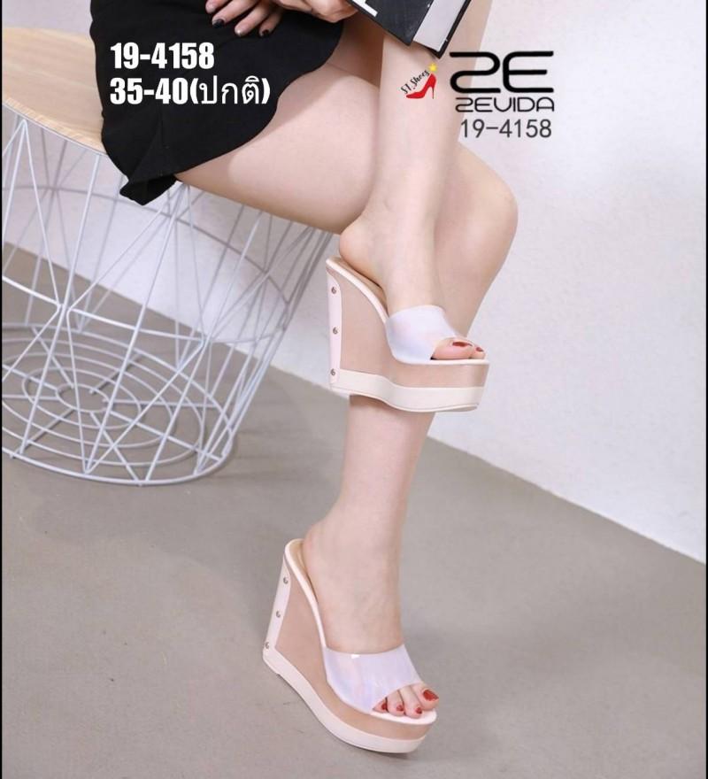 รองเท้าส้นเตารีดแบบสวม