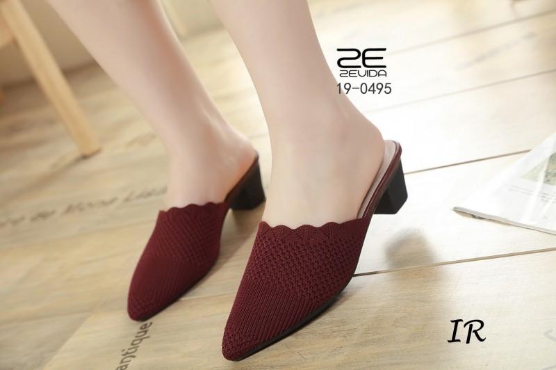 รองเท้าคัชชู ผ้าทอไหมญี่ปุ่นนิ่ม สูง 2 นิ้ว