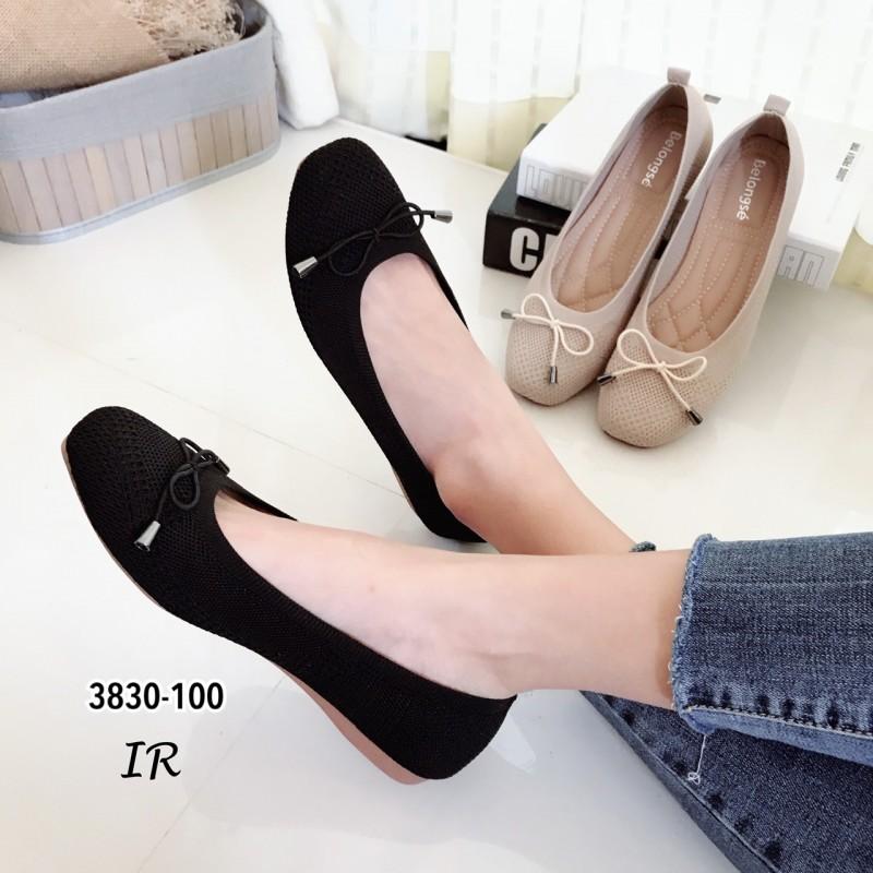 รองเท้าคัทชูผ้าทำจากวัสดุผ้าทอไหมญี่ปุ่น