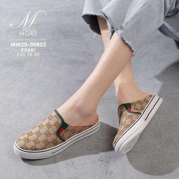Ⓝⓔⓦ Ⓢⓗⓞⓔ #รองเท้าพร้อมส่ง #รองเท้าผ้าใบเปิดส้น #รองเท้าผ้าใบ