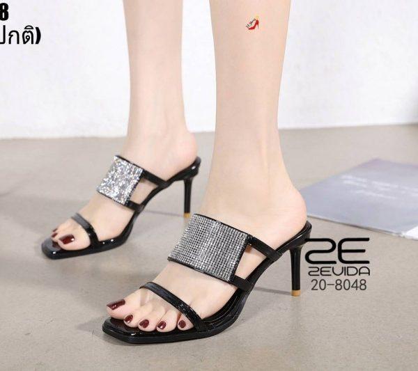 รองเท้าส้นสูงแบบสวมผู้หญิง