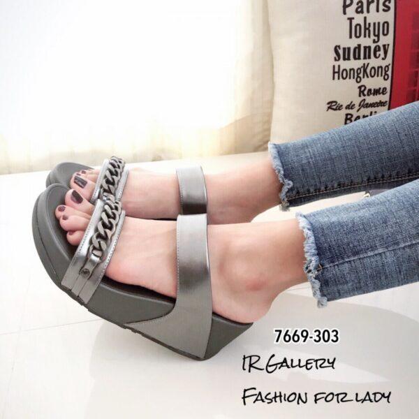 รองเท้าส้นเตารีดเพื่อสุขภาพ