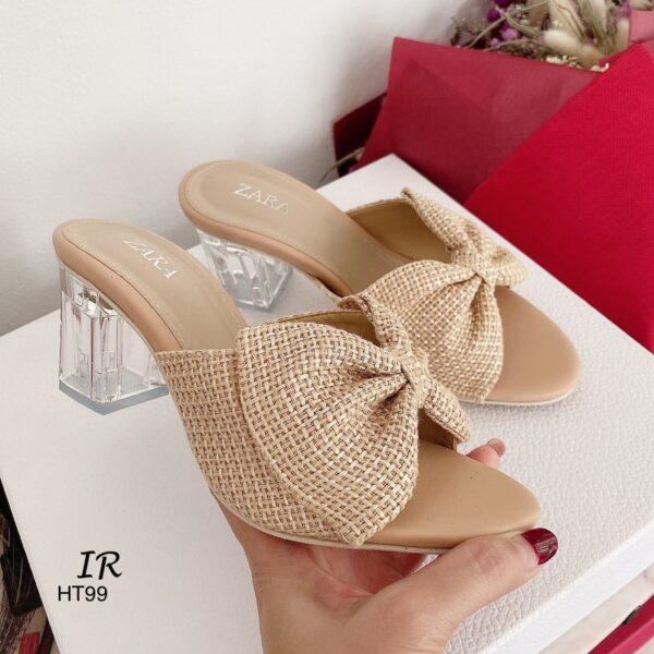 รองเท้าส้นสูง Zara ส้นใส