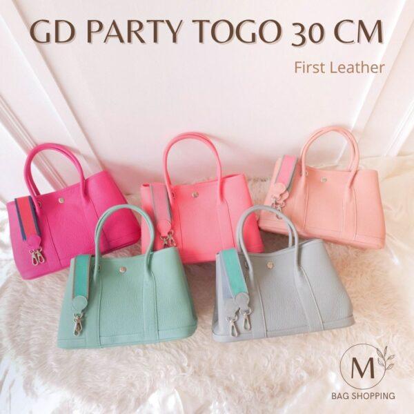 กระเป๋า Garden Gd Party Togo First Leather หนังแท้
