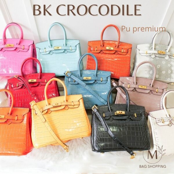 กระเป๋าสะพาย BK Crocodile